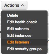 elb edit listeners